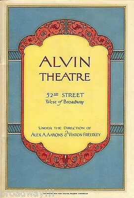 """George Gershwin """"FUNNY FACE"""" Fred Astaire / Victor Moore 1928 Broadway Program"""