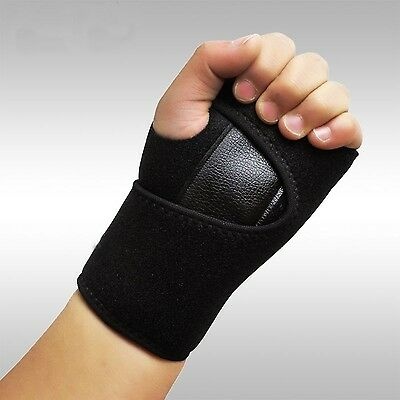 Glodeals Breathable Wrist Brace Wraps Hand Support Compression with Fingers S...