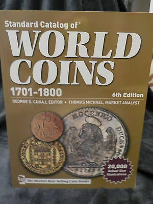 NEW Standard Catalog of World Coins 1701 - 1800 6th edition