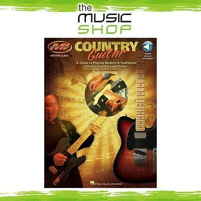 New Musicians' Institute: Country Guitar Music Tuition Book & OLA