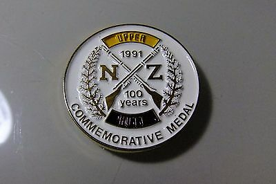1991 New Zealand 100 Year Commemorative Shooting Medal