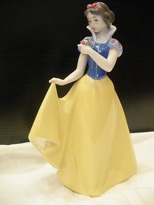 Nao by Lladro Snow White New in Original Box 01680
