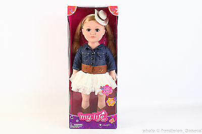 """My Life As 18"""" Cowgirl Doll Blonde"""