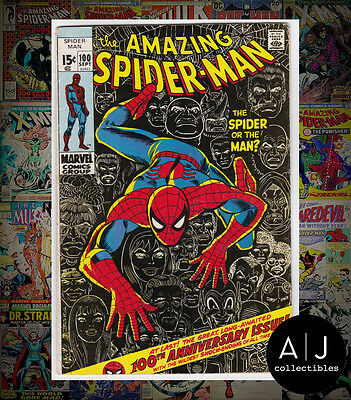 The Amazing Spider-Man #100 (I Marvel M) VG - FN! HIGH RES SCANS!