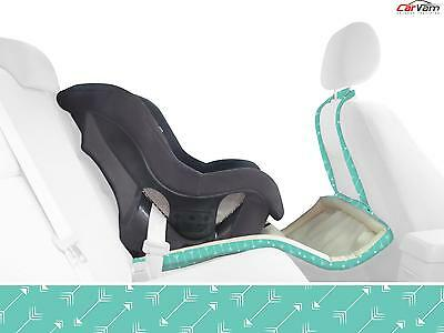 Catchie Concepts - Justice Turquoise Arrow Baby 3 in 1 Car Seat & Floor Protecto