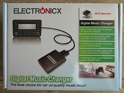 Electronicx Digital Music Changer USB/MP3/AUX/SD/CD Adapter UD 8Pin+20 Pin