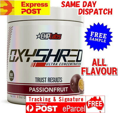 Ehp Labs Oxyshred Free Express Aus Post Ehplabs Oxy Shred