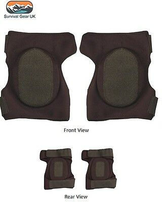 Neoprene Knee Pads Protection Black Tactical Airsoft Paintballing Padding