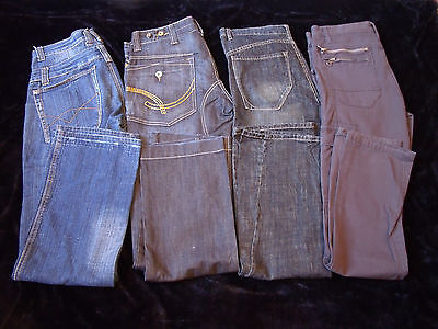 LOT 4 Jeans / Baggy Homme - T.42 (rv)