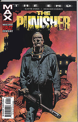 THE END PUNISHER N°1 - Albo In Americano