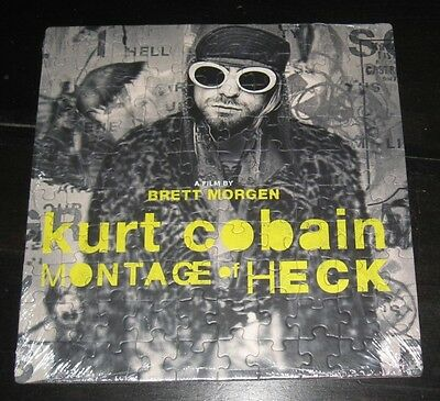 Kurt Cobain NIRVANA Montage of Heck photo 13x 13 PUZZLE film by Brett Morgen