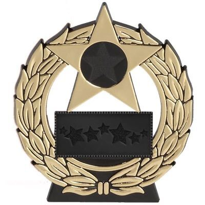 Budget Gold, Silver, Bronze Mega star trophy award FREE ENGRAVING