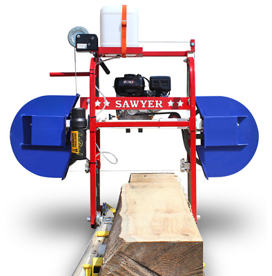 Hud-Son Sawyer Portable Sawmill Bandmill Band Mill Saw Mill bandsaw Cabin Kit