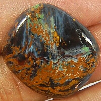 31 Cts. Aaa 100% Natural S-27X24X4 Mm Pietersite Loose Gemstone Oblong Cabochon