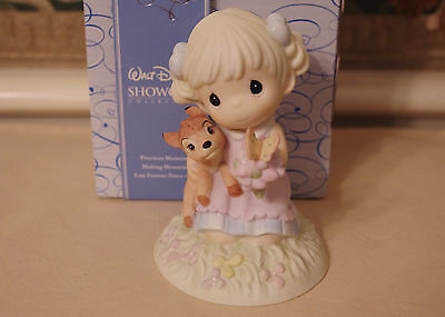 Disney Precious Moments Bambi Discover The Beauty All Around You Figure 730013
