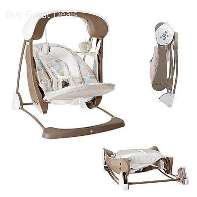 Fisher-Price CJV03 Deluxe Take Along Swing and Seat, Portable Baby Swing & Seat