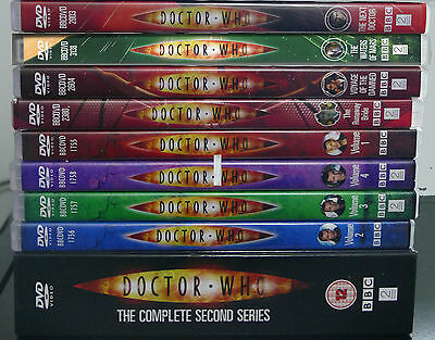 Dr Who DVD's Region 2 (Individual Sale)