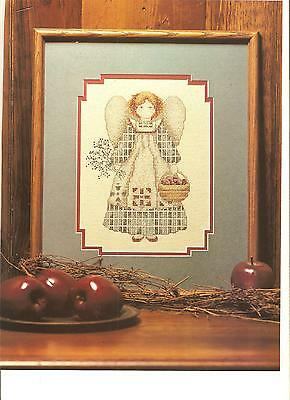 "Counted Cross~Stitch Charts For ""harvest*angel"" Picture By Alma Lynne"