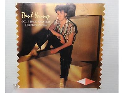 """Paul Young - Come Back And Stay - Single 7"""" - España - 1983 - (Ex/nm - Ex/nm)"""