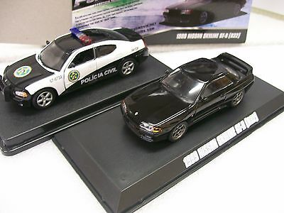 NEW 1/43 diecast Greenlight Fast and Furious model Mitsubishi Evo Eclipse Buick