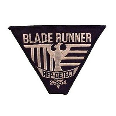 Replecant Detective Badge Patch - Blade Runner