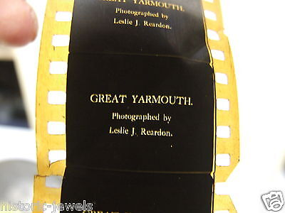 Great Yarmouth early 35mm Nitrate Silent Cinema