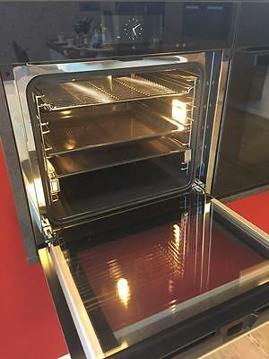 Miele Backofen Grifflos H 6860 BPX in Schwarz, AKTION   EU MODEL 60 CM