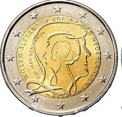 2 Euro Pays Bas Commemorative 2013
