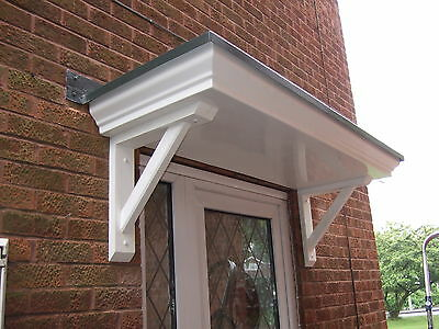 Brand New Standard Scrolled Door Canopy/porch To Fit A Single Doorway