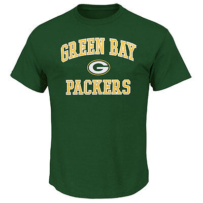 Green Bay Packers Heart and Soul NFL T-shirt - Small