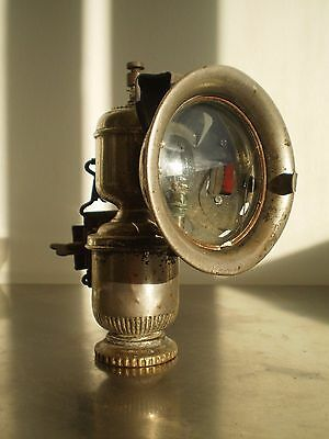 Lampe Velo Cicca  Ancien Carbure Acetylene Lanterne Bicyclette Old Cycle Lamp