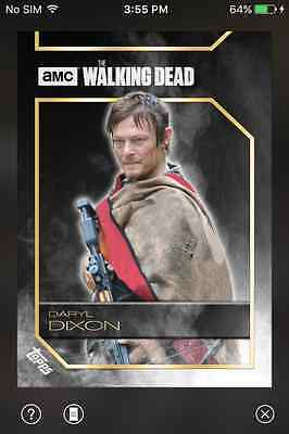 DIGITAL CARD Topps The Walking Dead Haze Series 2 Full Smoke Set With Award