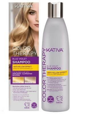KATIVA BLUE THERAPY SILVER champú 250 ml / 8.45 fl.oz.