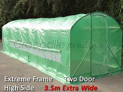 8m x 3.5m Poly Tunnel Polytunnel Pollytunnel Polly Tunnel Greenhouse Green House