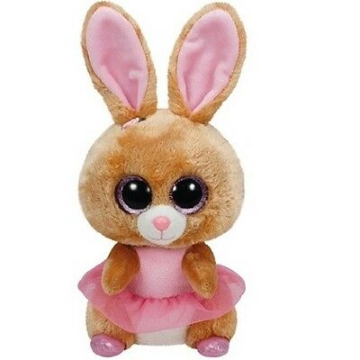 Carletto TY 7137047 Plüsch Hase Beanie Boos Twinkle Toes Ballerina 24cm
