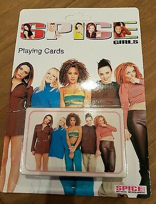 Spice Girls Official Playing Cards 1997. New and sealed