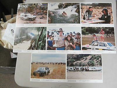 Vintage 1982 Safari 3000 Lobby Card Set David Carradine Stockard Channing