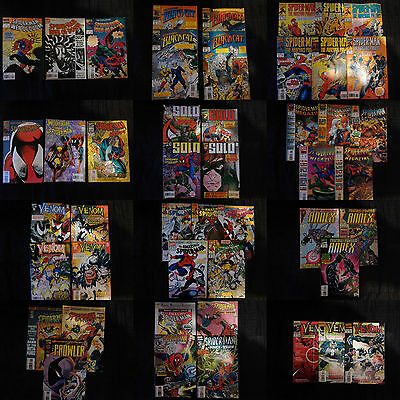 Lot de 48 comics Spider-Man en VO