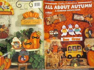 All About Autumn Painting Book-Combined Artists/Crafty Collections-Halloween/Tha