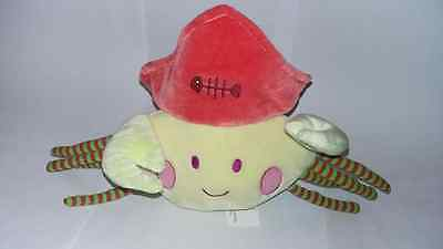 """NOUNOURS 13"""" / 33cm SUPER SOFT PLUSH CRAB WITH HAT TOY - NEW"""