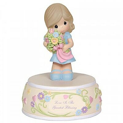 Precious Moments 'Love Is The Greatest Blessing' Mother's Day Musical 124100 NIB