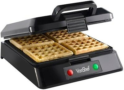 Thick Belgian Waffle Maker Machine Electric Non Stick Cooking Pan