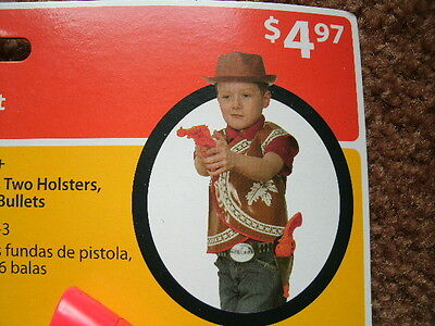 COWBOY COSTUME KIT ages 3+ NEW IN PACKAGE