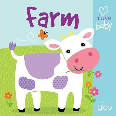 New BUGGY BOOK - FARM Touch & Feel I Love my Baby IGLOO Books - RRP £5.99