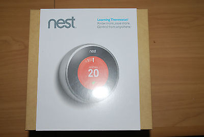 NEST Learning  Thermostat T200377 2ND Generation