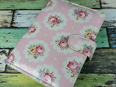 Pink Shabby Chic Floral Personal Size Planner