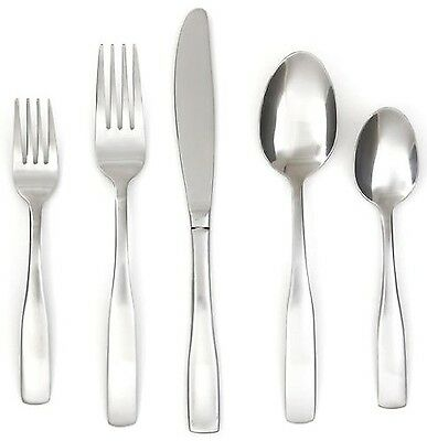 Cambridge Silversmiths Madison Satin 89-Piece Flatware Set