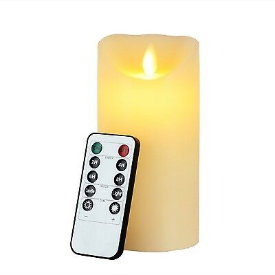 Led Candles Newcomdigi 6 inch Flameless Candles Remote Candles Electric Candl...