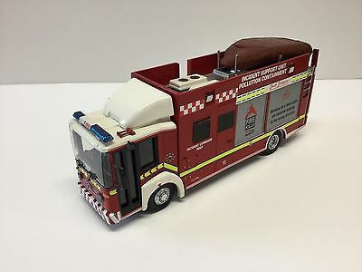 Fire Brigade Models Mercedes South Yorkshire Fire Pollution Containment Unit