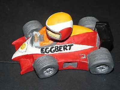 Eggbert Racing Driver In Red Malcolm Bowmer 1991